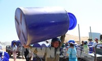 Merenovasi dan memperluas jaringan pemasokan air daerah dataran rendah sungai Mekong
