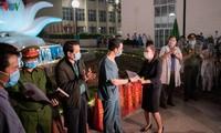 Rumah sakit Bach Mai, Kota Hanoi menyelesaikan waktu isolasi