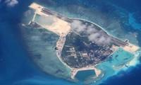 Opini umum internasional menyatakan kekhawatiran tentang tindakan yang berkepala batu dari Tiongkok di Laut Timur