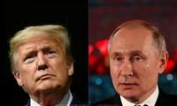 "Presiden Rusia – AS mengeluarkan pernyataan bersama yang menonjolkan semangat ""pertemuan sungai Elbe"" pada 75 tahun yang lalu"