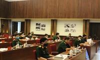 Kementerian Pertahanan Vietnam menilai hasil pekerjaan melawan wabah Covid-19