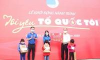 """Mengawali Perjalanan """"Aku mencintai Tanah Airku"""" tahun 2020 di Provinsi Quang Tri"""