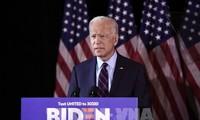 Joe Biden merebut cukup jumlah suara untuk menjadi calon Partai Demokrat