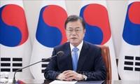 Presiden Republik Korea menekankan konsisten dengan target perdamaian di Semenanjung Korea.
