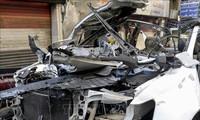 Serangan bom di Suriah sehingga menimbulkan 20 korban