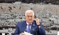 Presiden Palestina mengajukan persyaratan untuk melakukan kembali perundingan damai dengan Israel