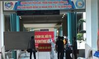Rumah sakit lapangan di Kabupaten Hoa Vang, Kota Da Nang sudah siap menerima pasien Covid-19