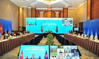 ASEAN dan para mitra menegaskan tekad dalam mendorong perdagangan dan investasi