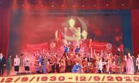 Acara peringatan ultah ke-90 Gerakan Soviet Nghe Tinh