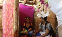 Pernikahan warga etnis minoritas Raglai: Keluarga pengantin perempuan melakukan semua urusan