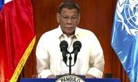 Presiden Filipina, Rodrigo Duterte membela vonis Laut Timur tahun 2016