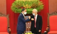 Jepang merupakan mitra strategis yang penting primer dan berjangka panjang bagi Vietnam