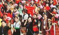 Persatuan besar suluruh bangsa dengan latar belakang integrasi internasional