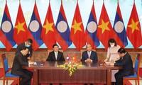 Vietnam dan Laos Menandatangani 17 Naskah, Mengarahkan Hubungan Kerja Sama di Waktu Mendatang