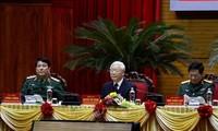 Sekjen, Presiden Nguyen Phu Trong Memimpin Konferensi Militer Politik Seluruh Tentara