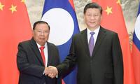 Tiongkok dan Laos Menetapkan Orientasi Kerja Sama Tahun 2021