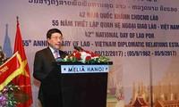 Embassy marks 42nd National Day of Laos, Vietnam-Laos ties