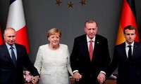 Turkey, Russia, France, Germany call for lasting Syria ceasefire
