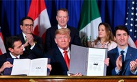 Trump urges Congress to pass US-Mexico-Canada trade pact