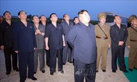 North Korea leader Kim oversaw the test-firing of new weapon