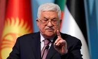 Palestinian leader urges for ending violence in Gaza