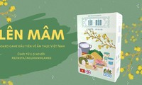 """""""Len mam"""" - First Vietnamese board game about Tet's signature dishes"""
