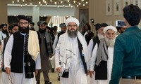 Taliban negotiators in Doha for talks with Afghan government