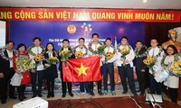 Vietnamese students win five gold medals at Int'l Olympiad of Metropolises