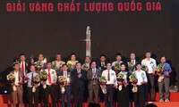 Sixty-one enterprises honored with Vietnam National Quality Awards 2020