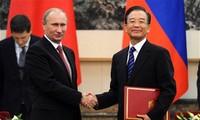 Развитие стратегических отношений между Россией и Китаем