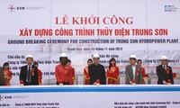 В провинции Тханьхоа прошла церемония старта проекта строительства ГЭС «Чунгшон»
