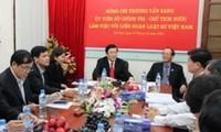 Чыонг Тан Шанг провёл рабочую встречу с членами ПК Союза вьетнамских юристов