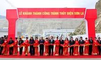 Нгуен Тан Зунг принял участие в церемонии ввода в эксплуатацию ГЭС «Шонла»