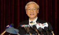 Генсек ЦК КПВ: необходимо поднять вьетнамо-индийские отношения на новую высоту