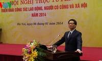 Конференция по выполнению плана министерства труда СРВ на 2014 год
