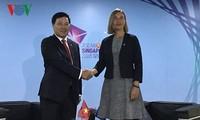 Вице-премьер, министр иностранных дел Вьетнама встретился с главами МИД Китая, ЕС, Брунея и Филиппин