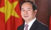 Специальное коммюнике в связи с кончиной президента Вьетнама Чан Дай Куанга