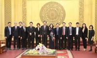 Делегация Коммунистической партии Японии совершила рабочую поездку в провинцию Ниньбинь