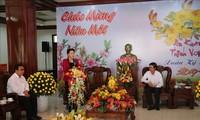 Спикер вьетнамского парламента поздравила жителей провинции Тиензянг с Тэтом