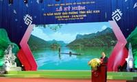 Нгуен Суан Фук принял участие в церемонии празднования 70-летия со дня освобождения провинции Баккан