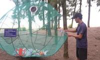 Своеобразная модель «Рыба воспринимает отходы» на острове Кайчиен провинции Куангнинь