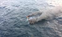 Президент РК: особый приоритет отдаётся спасению пострадавших при пожаре на рыболовецкой шхуне вблизи острова Чеджу