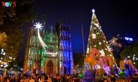Рождественская атмосфера в Ханое