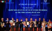 Награждены победители викторин об отношениях между Вьетнамом и Индонезией