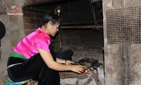 Утятина, запеченная в бамбуковых трубках – деликатес народности Тхай в провинции Шонла