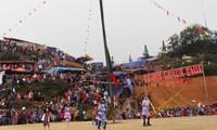 В разных районах страны начались весенние праздники