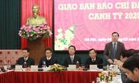 Состоялась конференция руководителей СМИ в начале нового года по лунному календарю