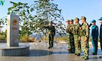 Памятный знак «Три границы» - символ взаимодоверия и солидарности между народами Вьетнама, Лаоса и Камбоджи