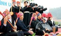 Тинь – традиционный музыкальный инструмент народности Таи в провинции Куангнинь