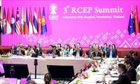 Стороны обязались подписать Соглашение о Региональном всеобъемлющем экономическом партнерстве (RCEP) в 2020 году